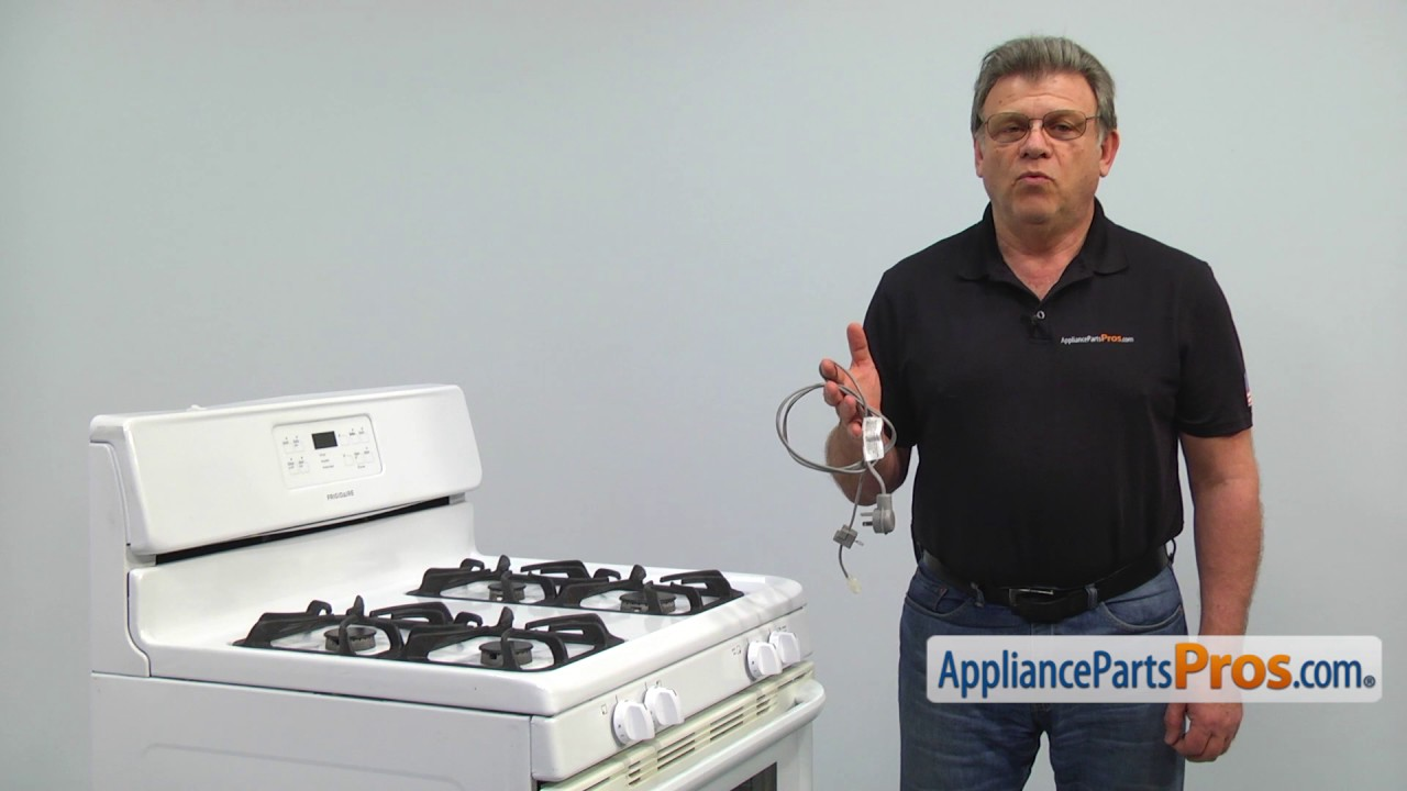 Range Power Cord (part #807108202) - How To Replace - YouTube