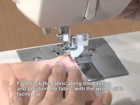 Brother Accessory Blind Stitch Foot English YouTube Extraordinary Blind Stitch Brother Sewing Machine