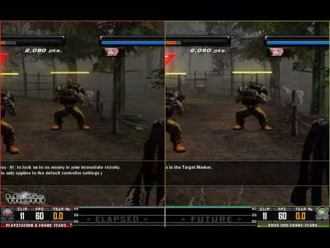 Tekken 6 Ps3 Vs X360 True Hd Quality Youtube