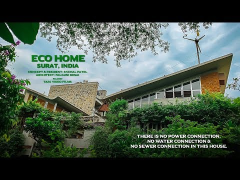 ECO HOME: No Power, Water & Sewer connection in this house.