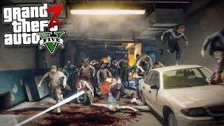 GTA 5 Зомби Апокалипсис - ЗОМБИ УНИЧТОЖИЛИ БАЗУ И НОВАЯ БАЗА В ГТА 5 МОДЫ 26! GTA 5 ОБЗОР МОДА ВИДЕО