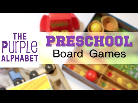 Easy Beginner Preschool Board Games