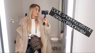 COME SHOPPING TO ZARA/H&M AND TOPSHOP WITH ME!!!!