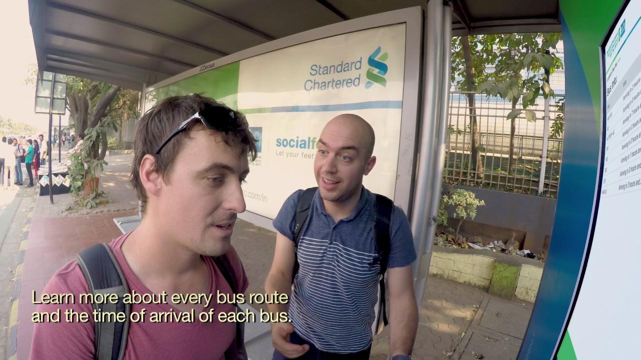 Standard Chartered Mumbai Marathon - Bus Shelter (2017)