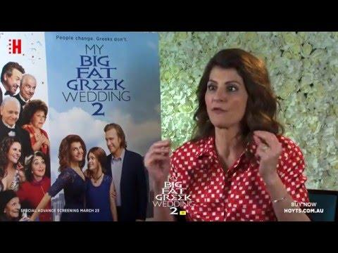 MY BIG FAT GREEK WEDDING 2 - INTERVIEW