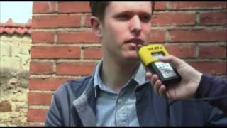 Interview mit James Blake @ Donaufestival 2011