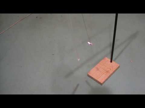 видео: Действие электростатического поля на кусочек фольги. Лучший ракурс.