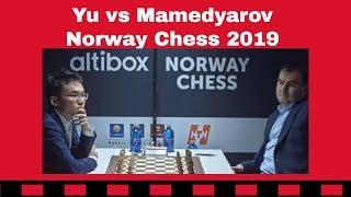 An epic pawn adventure | Yu Yangyi vs Shakhriyar Mamedyarov: Norway Chess 2019