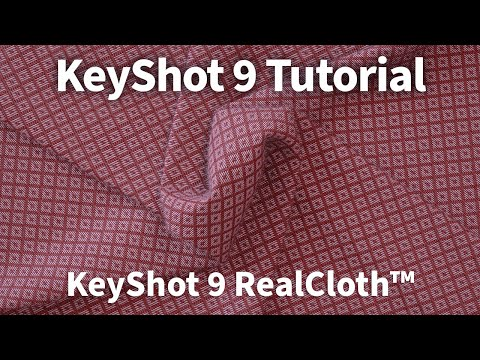 KeyShot 9 Feature Tutorial - RealCloth™ thumbnail