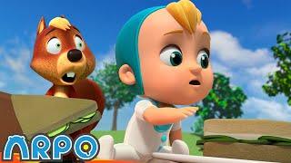 음식 도둑 다람쥐! ・ 신규 에피소드 ・ 재미있는 어린…