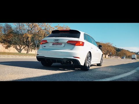 378hp Audi S3 Sportback w/ ARMYTRIX Full Valvetronic Exhaust + Stage 2 ECU Tuning!