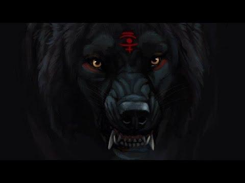 Чёрный волк- Одиночество.