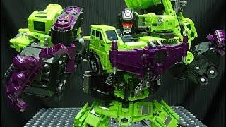 JinBao KO Upscaled Generation Toy GRAVITY BUILDER (Devastator): EmGo's Transformers Reviews N' Stuff