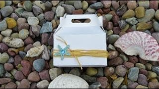 Wedding or Sweet 16 Party Favor Idea   Beach themed -  Week 12