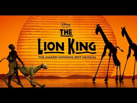 The Lion King Broadway Cast Grasslands Chant With Lyrics Youtube