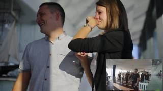 Najpiękniejsze zaręczyny - Agnieszka i Krzyś Olsztyn 12.11.2016