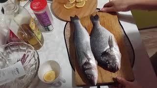 Рыба запеченная в духовке на новый год. Рецепт рыбы в духовке.