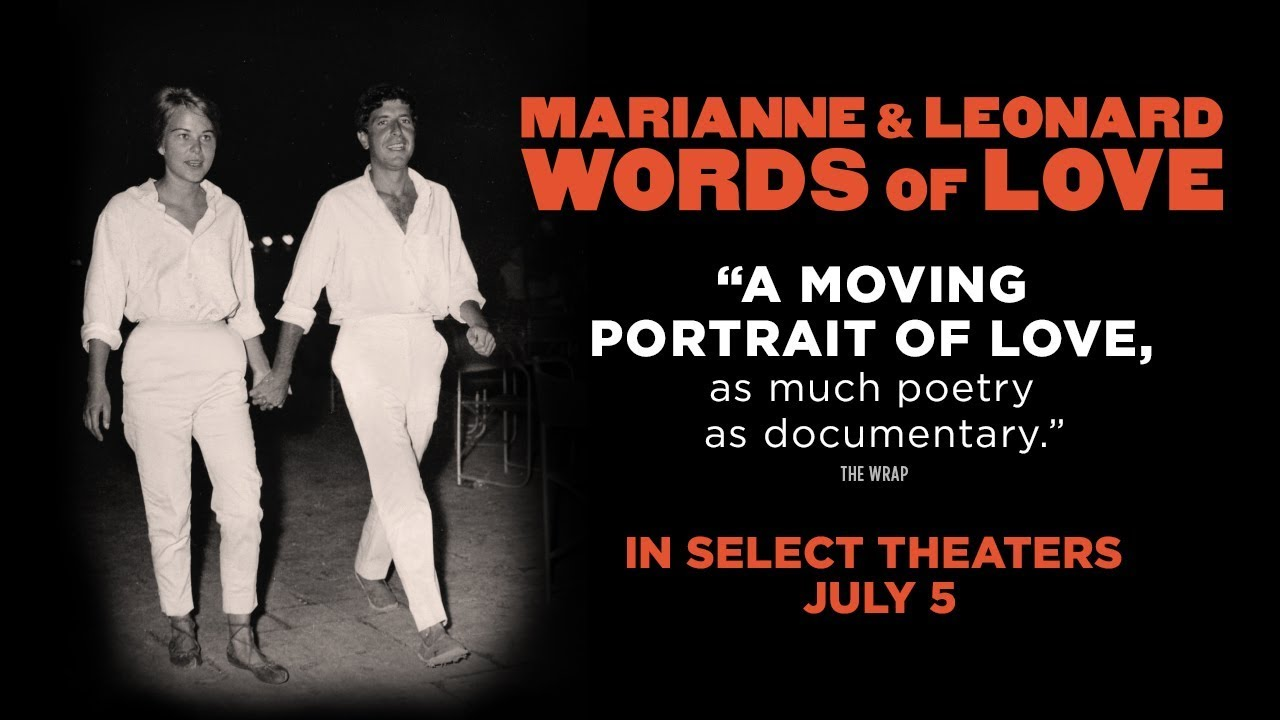 Image result for marianne and leonard words of love poster