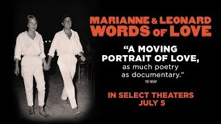 MARIANNE & LEONARD WORDS OF LOVE | Official Trailer | Roadside Attractions