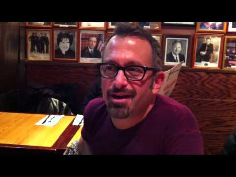 Andrew Jarecki & Val Broeksmit At The Carnegie Deli