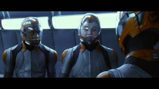 Enders Game Movie Clip Dragon Fight