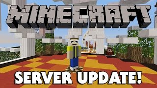 EvanTubeHD MINECRAFT SERVER UPDATE!