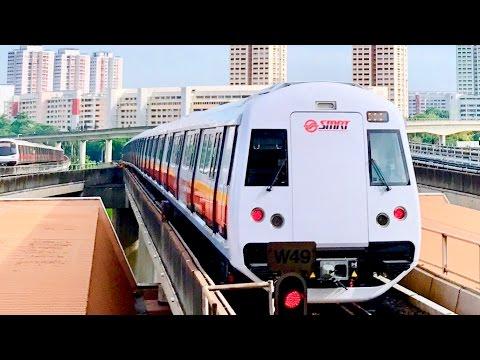 [SMRT] First Revenue Service Trip - Kawasaki Heavy Industries & CSR Qingdao Sifang C151B