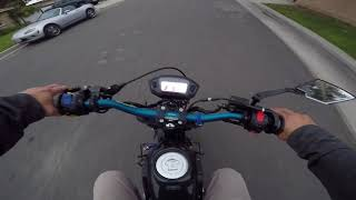 ZS 190cc Test Run