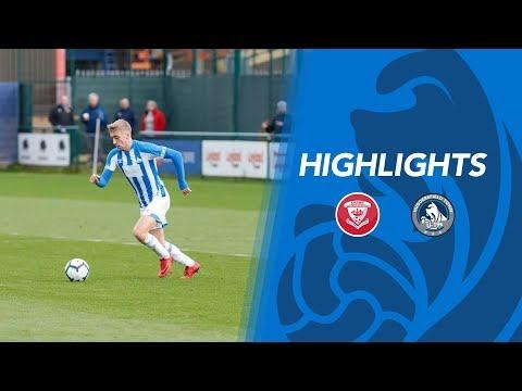 ⚽️ HIGHLIGHTS | Larne 2-0 Huddersfield Town U19s