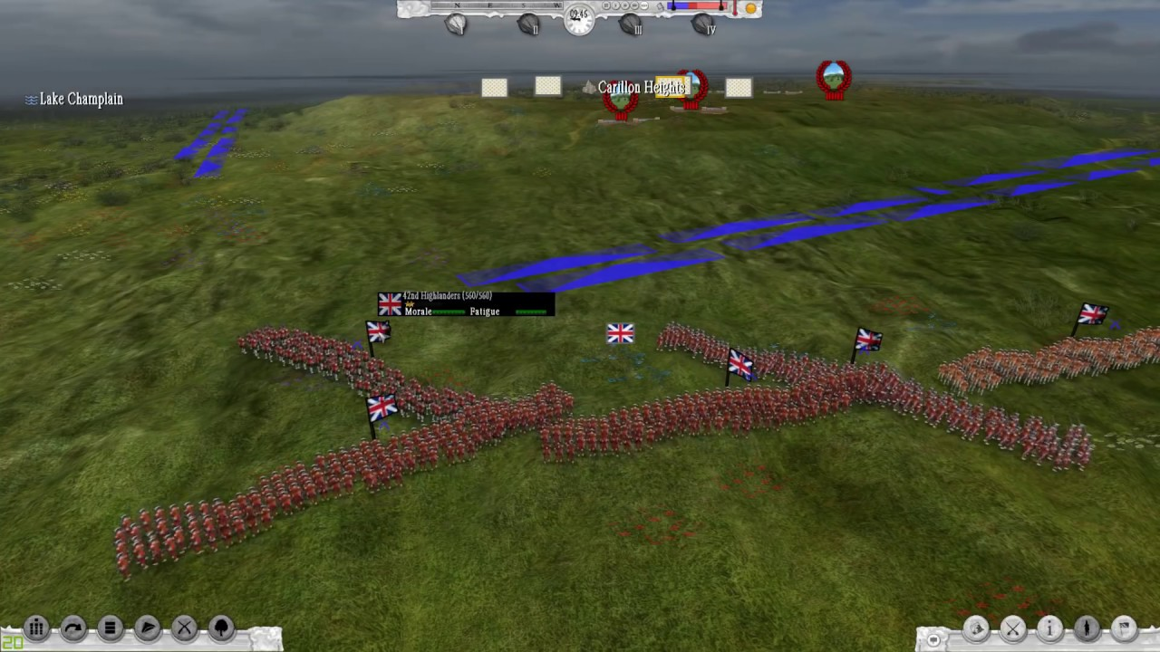 SEVEN YEARS WAR – First Look Part 2 (Combat) – The Battle of Carillon