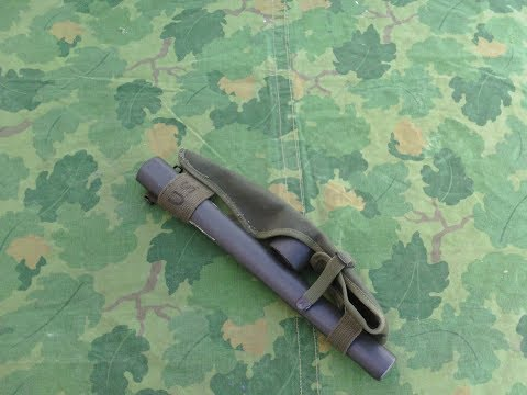 A Review Of The US Military Pick Mattock With Carrier