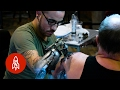 The Cyborg Artist: Tattooing With a Custom Prosthesis