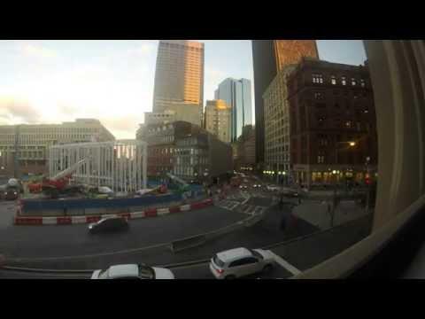 Government Center Boston Timelapse