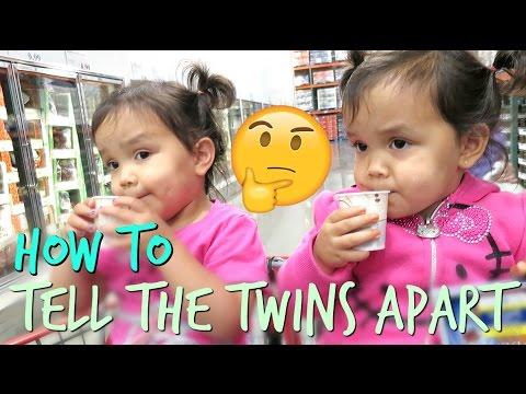 How To Tell Miya and Keira Apart - September 28, 2016 -  ItsJudysLife Vlogs