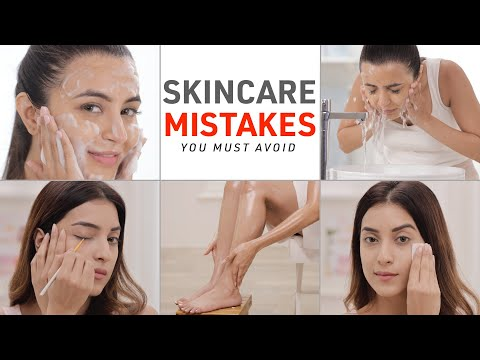 Skincare Mistakes You're Making   How To Make Your Skin Glow Everyday