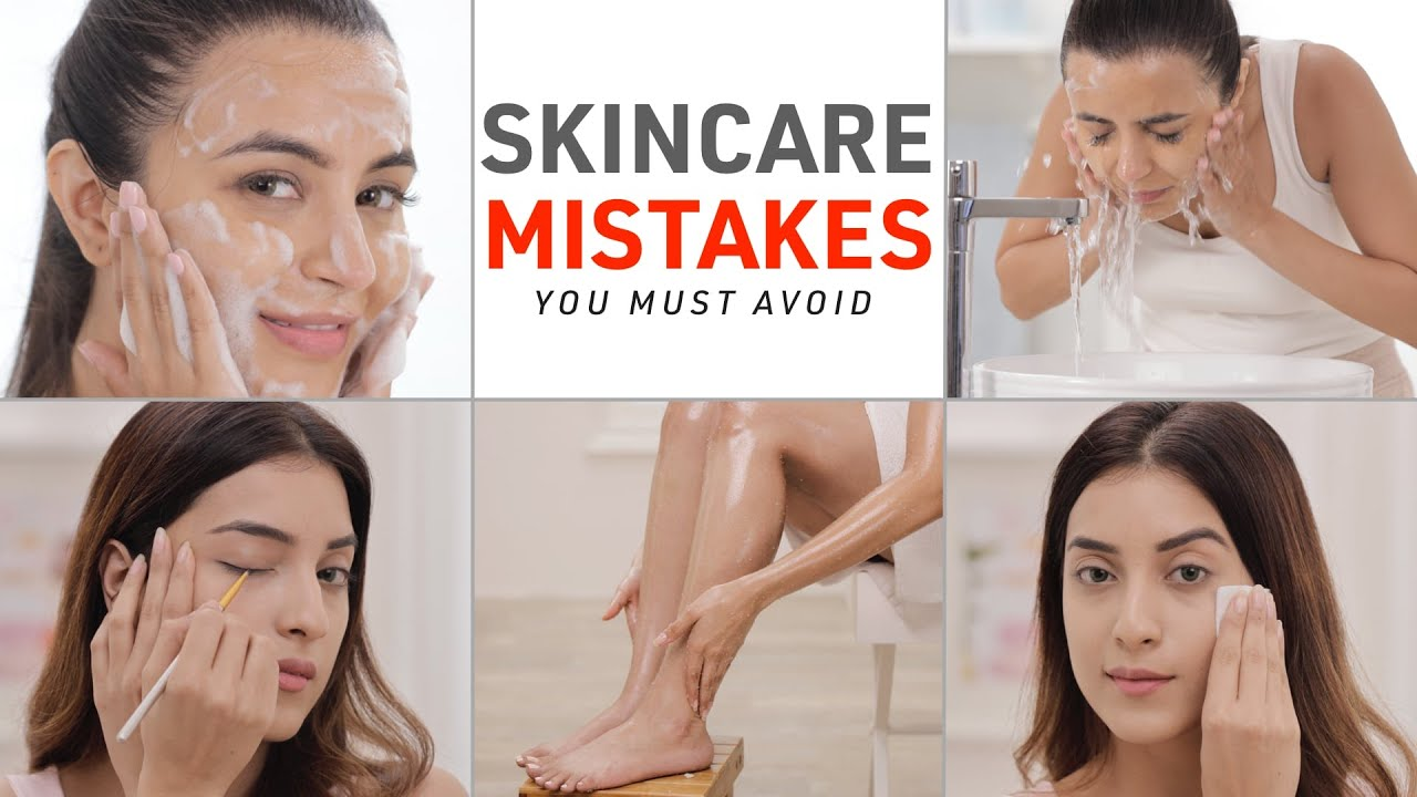 The Worst Skin Care Mistakes