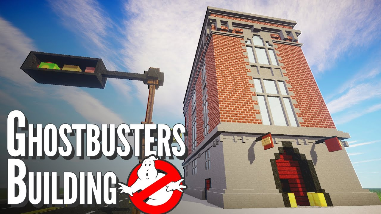 Ghostbusters Building In Minecraft Build Showcase Youtube