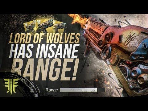 Destiny 2: Lord of Wolves INSANE RANGE! New Forsaken Exotic Weapon Review!