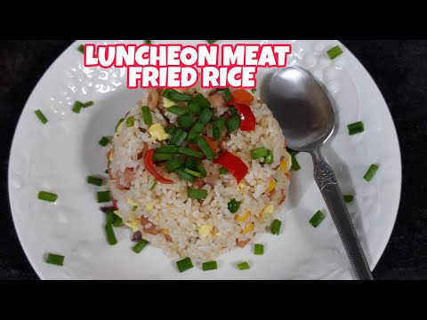 super-easy-|-yummy-|-delicious-|-luncheon-meat-fried-rice-recipe