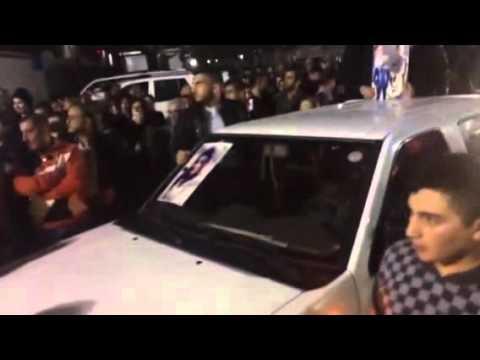 استقبال جثامين ابناء بغديدا الغرقى في مجمع آشتي 2 للنازحين في عنكاوا
