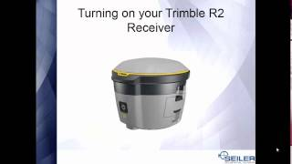 How To use the Trimble R2 GNSS Receiver in Collector