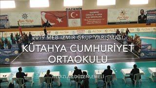 Kütahya Cumhuriyet Ortaokulu   Yıldızlar Düzenlemeli   2019 MEB İzmir Grup #Zeybekoloji
