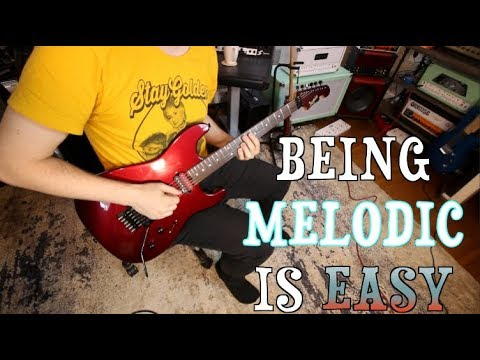 The Secret To Being More Melodic!