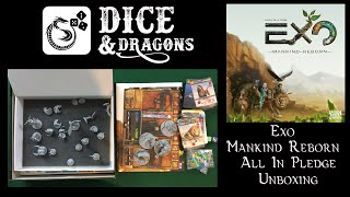 Dice and Dragons - Exo Mankind Reborn Unboxing