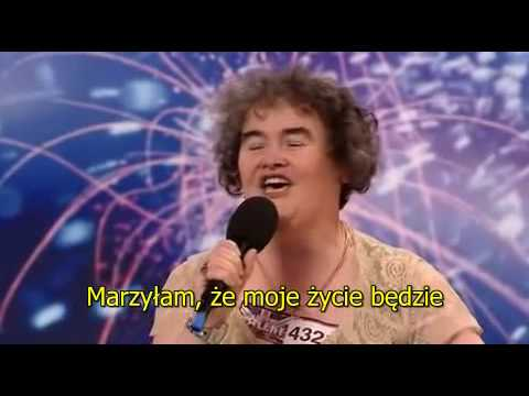 Napisy Polskie Susan Boyle - Britain's Got Talent [Polski]