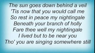 Leonard Cohen - Nightingale Lyrics