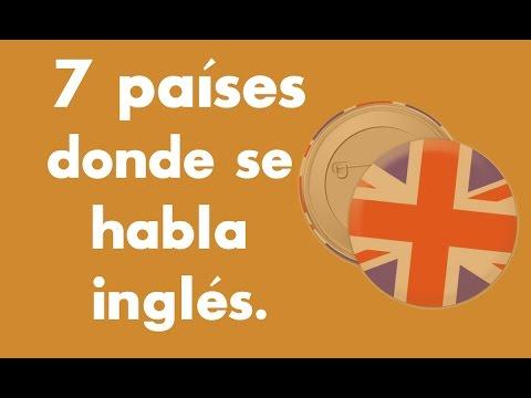 Países Donde Se Habla Inglés.