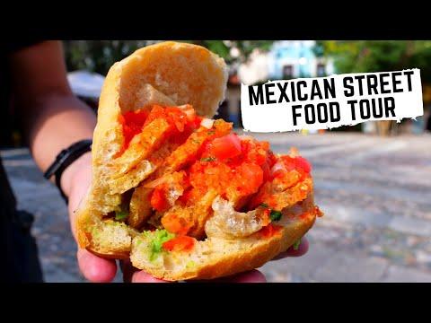 Massive Mexican Street Food Tour GUANAJUATO, Mexico | Explosive Drink + Delicious Pork Crackle Bun