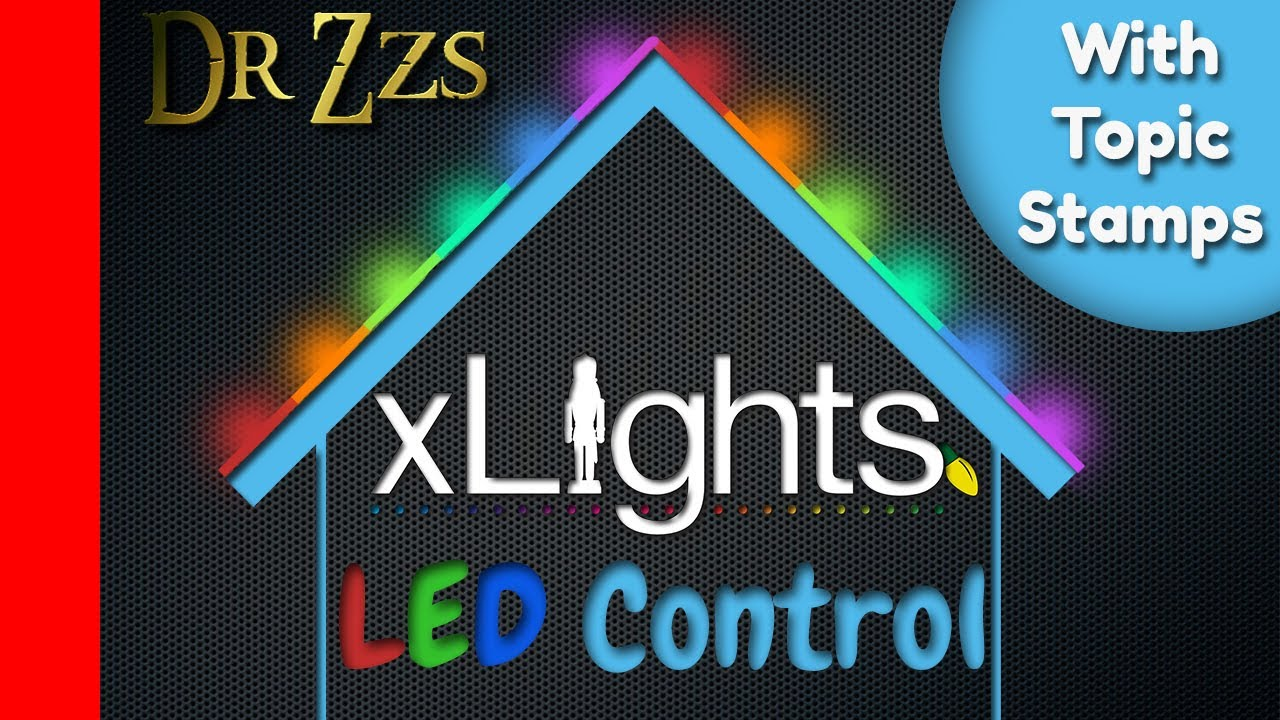 DrZzs Home Automation Live Stream ( XLights ) by DrZzs