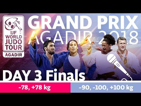 Judo Grand-Prix Agadir 2018: Day 3 - Final Block